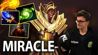 Miracle- EPIC REFRESHER Wombo Combo Dota 2