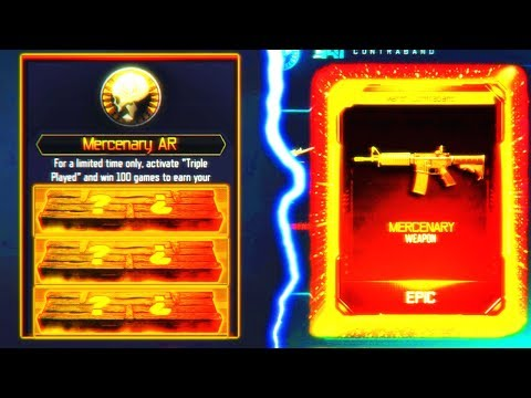 NEW MERCENARY AR... WHAT IS IT? - NEW BLACK OPS 3 DLC WEAPON UPDATE! (BO3 Community Contract)
