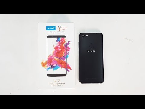 Vivo V7 Unboxing & Hands On Indonesia