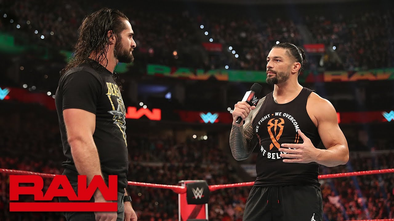 WWE On FOX Asks Fans To Pick Between Seth Rollins And Roman Reigns, Rollins Responds