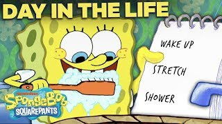 An Entire Day with SpongeBob, Hour by Hour! ☀️ A Day in the Life