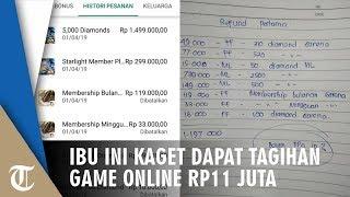 Kisah Viral Seorang Ibu di Kediri Kaget Mendapat Tagihan Game Online hingga Rp11 Juta