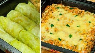 """Этот способ приготовления меняет всё! Голубцы под сметано-томатном соусом - на """"Ура""""!   Appetitno.TV"""