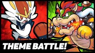 Mario vs Bowser Pokemon Theme Battle!
