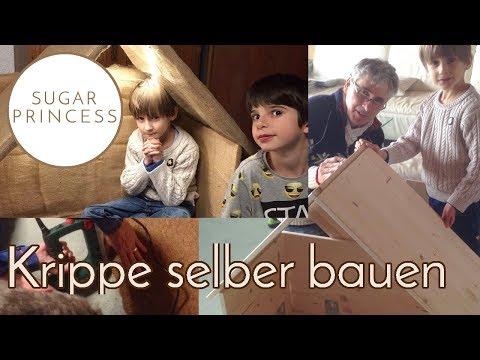Weihnachtliche Krippe/Bethlehems Stall für den Garten selber bauen | Sugarprincess