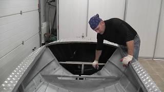 Алюминиевых лодок для рыбалки своими руками