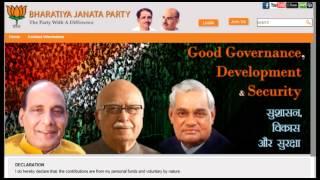 How to Join Bharatiya Janata Party (BJP) ?