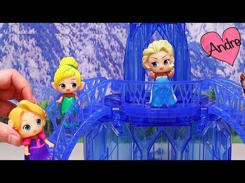 Una Elsa muy enojona!!! Jugando muñecas y juguetes con Andre para niñas y niños