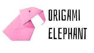 DIY - How To Make A Paper Elephant | Origami Paper Elephant - Art & Craft|