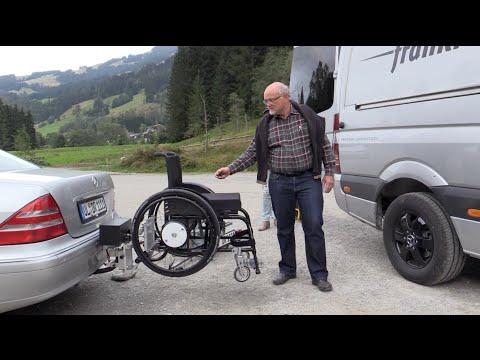 Rollstuhl Elektrischer Heckträger Anhängerkupplung
