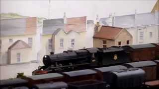 preview picture of video 'Bath Green Park by Taunton MRG seen at Railex Aylesbury May 2014'