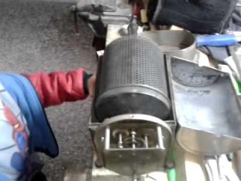 Antigua Tostadora de Café mecanismos