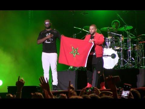 Mawazine – Maître Gims amoureux du Maroc rend hommage au Roi