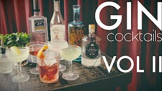 Gin Cocktails VOL II