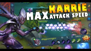 KARRIE 250% ATTACK SPEED! WTF IS THIS!
