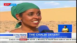 Focus on Chalbi Desert home of Kenya's Ostriches and Grevy's zebras