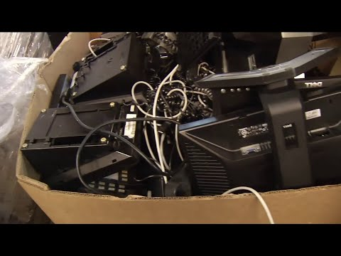 Business owner charged with improper disposal of hazardous e-waste