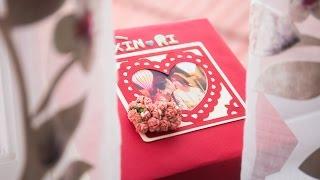 Quà cưới   Love Box   Starfam gửi tặng chị Hari & anh Trấn Thành