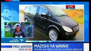 Maelfu ya watu wakongamana kwenye uwanja wa Orlando Johannesburg kumpa  buriani mama Winnie  Mandela