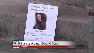 Missing Anniston Woman Found Safe