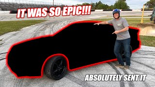 Surprising One of Our Best Friends With a BURNOUT CAR!!! (He Freaking RIPPED IT)