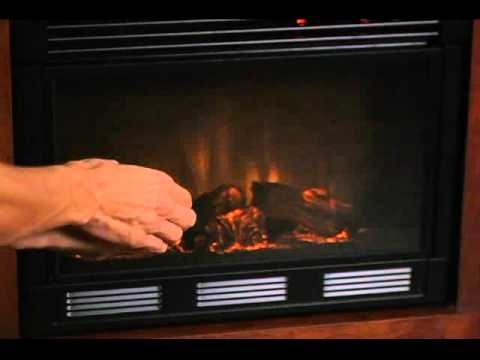 Video for Cartwright Oak Convertible Electric Fireplace