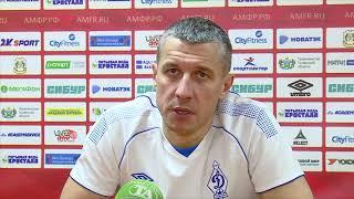 Максим Горбунов: «Игра получалась до минутного перерыва»