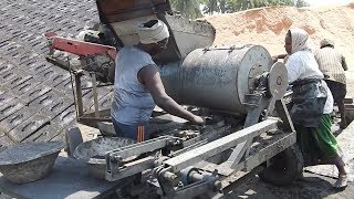 Automated Brick making machine (MUD BRICKS) / Small Scale IndustrieS