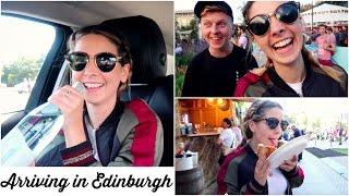 ARRIVING IN EDINBURGH