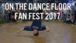 Tampa Bay Rays Fan Fest 2017 | On the Dance Floor!
