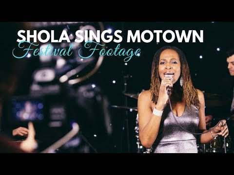 Shola Sings Motown Video
