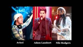 Avicii feat Adam Lambert and Nile Rodgers - Lay Me Down (LIVE audio)