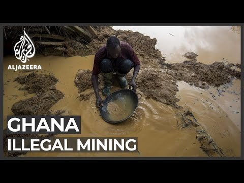 Download Ghana: Illegal gold mining threatens water supplies Mp4 HD Video and MP3