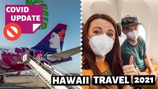 FLYING TO MAUI IN 2021 // Hawaiian Airlines  // Covid -19 Requirements Step by Step guide