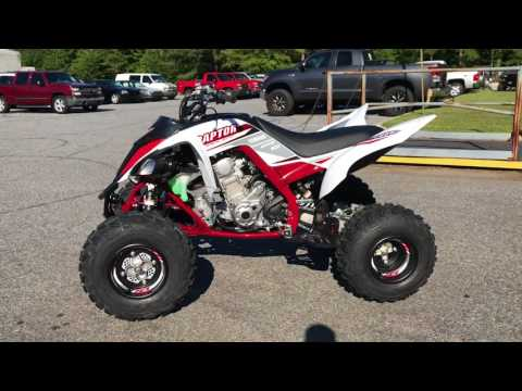 2018 Yamaha Raptor 700R SE in Greenville, North Carolina - Video 1