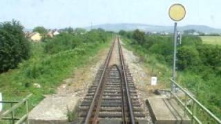 preview picture of video 'Vonattal Slovenské Nové Mesto és Sátoraljaújhely között.'