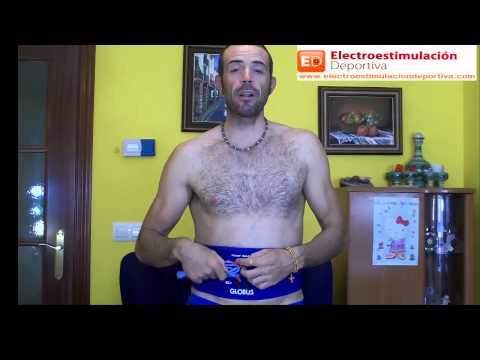 Perder grasa abdominal con faja de electroestimulacion (parte 1)