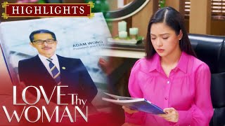 Jia (Kim Chiu) gets emotional upon seeing Adam's (Christopher de Leon) portrait in Dragon Empire's portfolio.  Subscribe to the ABS-CBN Entertainment channel! - http://bit.ly/ABS-CBNEntertainment  Watch the full episodes of Love Thy Woman on TFC.TV: http://bit.ly/LoveThyWoman-TFCTV and on iWant for Philippine viewers: http://bit.ly/LoveThyWoman-iWant  Visit our official websites!  https://lovethywoman.abs-cbn.com/  http://www.push.com.ph  Facebook:http://www.facebook.com/ABSCBNnetwork Twitter:https://twitter.com/ABSCBN Instagram:http://instagram.com/abscbn  Episode 20 Cast: Christopher de Leon (Adam) / Eula Valdes (Lucy) / Yam Concepcion (Dana) / Kim Chiu (Jia)  Watch more Love Thy Woman videos here: Highlights - http://bit.ly/LoveThyWomanHighlights Recaps - http://bit.ly/LoveThyWomanRecaps  #LTWHarapan #LoveThyWomanEp20 #LoveThyWoman