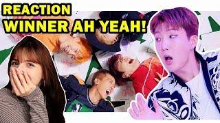 MV Reaction Ah Yeah Winner | REAGINDO A AH YEAH