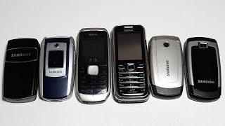 Samsung Nokia мои любимчики с аукциона. Samsung X680, X510, E700, X150. Nokia 6233
