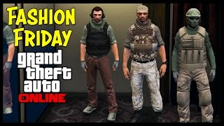 @RockstarGames WHY? GTA 5 Online FASHION FRIDAY! Best Military Outfits PATCHED!