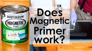 Does Magnetic Primer By Rust-Oleum Work?