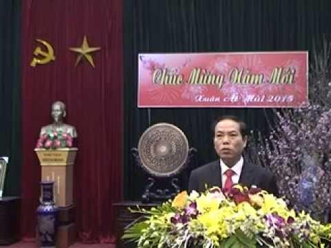 Chúc tết của đ/c Chủ tịch UBND huyện Hưng Hà nhân dịp Xuân Ất Mùi 2015