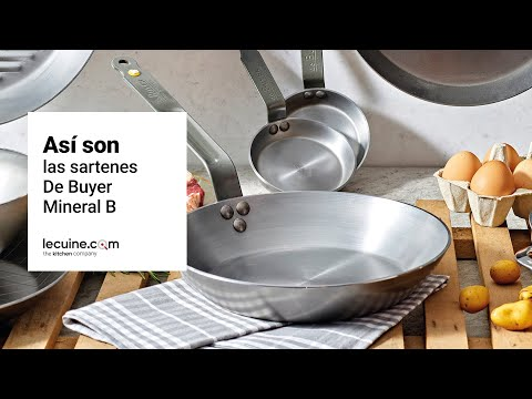 Sartén de hierro mineral B De Buyer