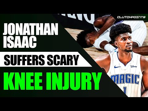 Jonathan Isaac Scary Knee Injury Against The Kings