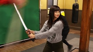 On the set of Netflix Marvel Iron Fist - Alodia