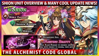 Shion Unit Overview + Official Recommended Build, Gormalas Pirate+ & Many Cool Update News! (TAC)