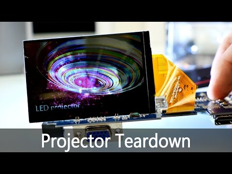 Chinese LED Projector Teardown - What Is Inside ? [4K] Mp3