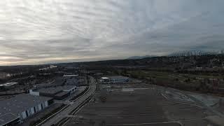 DJI FPV Drone maiden flight in sport mode in sport mode part 2
