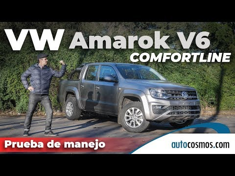 Test VW Amarok Comforline